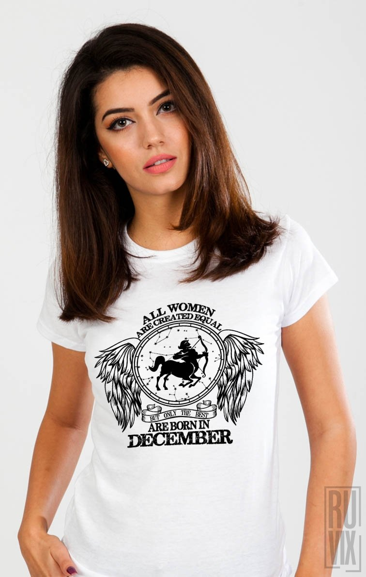 Tricou Săgetător - Zodiac Decembrie Damă